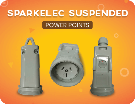 Sparkelec suspended power points
