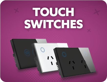 SPARKELEC Touch Zigbee Wifi Switches & Power Points