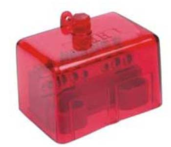 10 hole active link 100amp - red