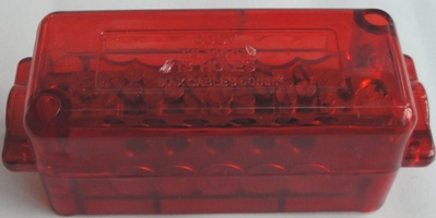 13 hole active link 165amp - red