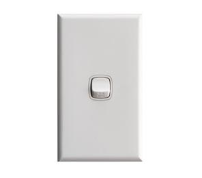 1 gang switch white - hpm xl770/1