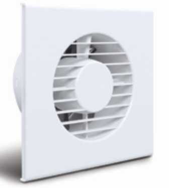 125mm Slimline Exhaust Fan Allvent Alvslim5a Clipsal