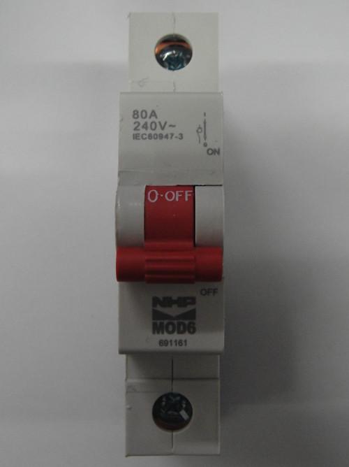 Nhp single phase 80amp main switch