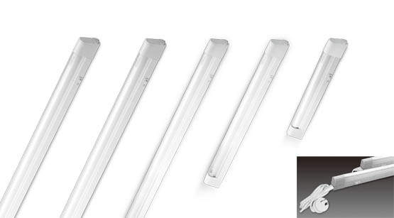 Sunny lighting t5 8w linkable fluorescent light with flex & plug