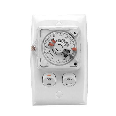 Clipsal 24 hour timer switch white tc32v24