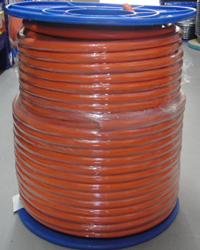 16mm 4 core + earth orange circular 100 metres electra/wwcable