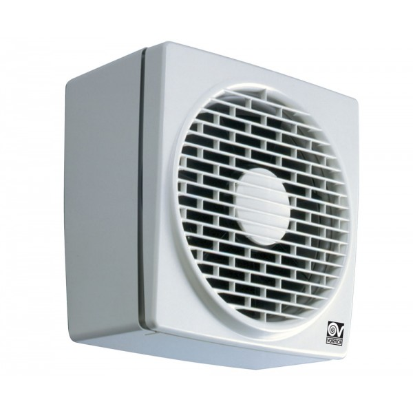 Exhaust Fans Window Exhaust Fans Ceiling Exhaust Fans And Wall Exhaust Fan Mail: Vortice Vario Wall / Window Fan V150 / 6""