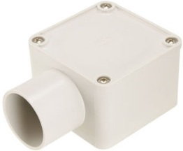 40mm 1 way square junction box