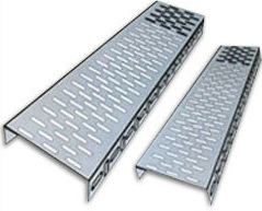 200mm perforated cable tray 2.4 metres