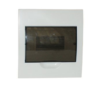8 pole recessed mount switchboard - sparkelec sdb8r