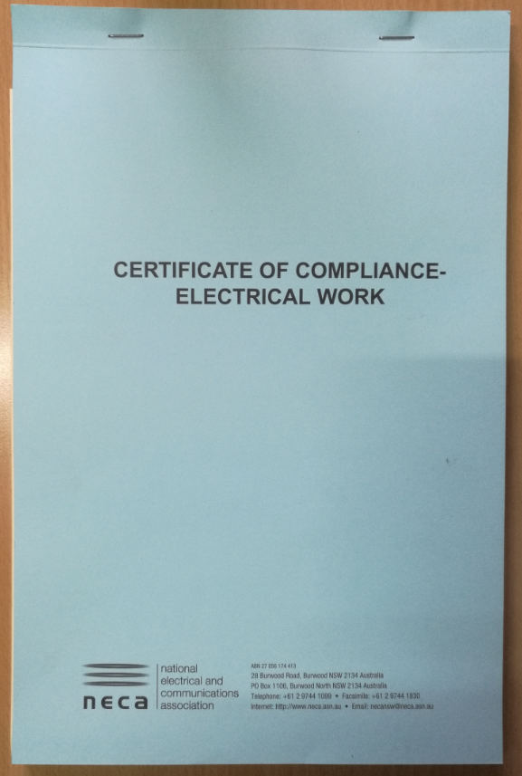 Electrical Compliance Amp Log Books Electricians