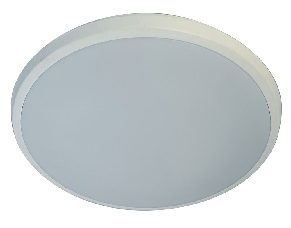 20w 30cm warm white dimmable led oyster light slim - white - oyster10