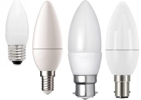 6w small e14 5000k daylight candle led - mbpc56e14