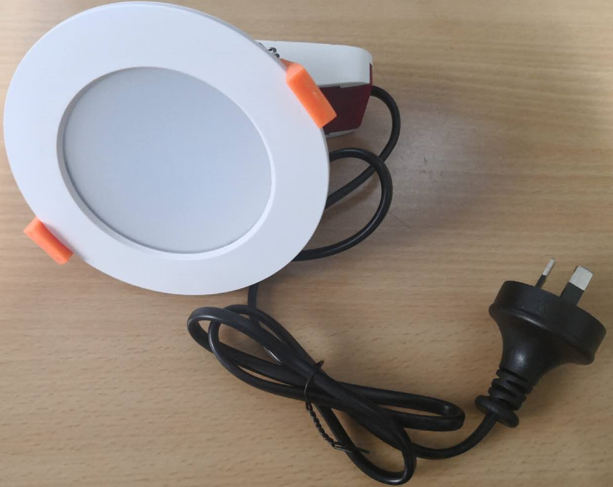 13w flat dimmable led downlight with 3 color selector switch - 3000k - 4000k - 5000k