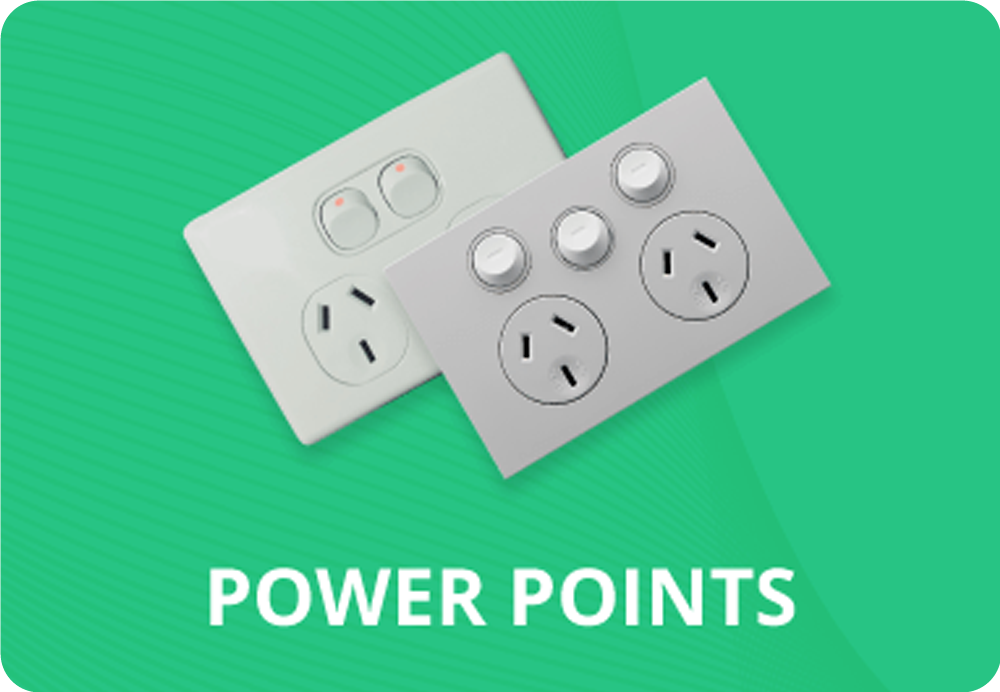 Power Points, Ceiling Sockets & Floor Outlets