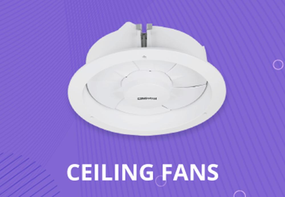 Ceiling, Wall Exhaust, Inline Fans & Fan Controls